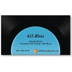 Vinyl Record Business Cards by rawson22