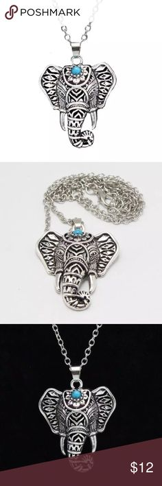 💝BUNDLE&SAVE💝 🐘 Vintage elephant pendant necklace 🐘 Jewelry Necklaces