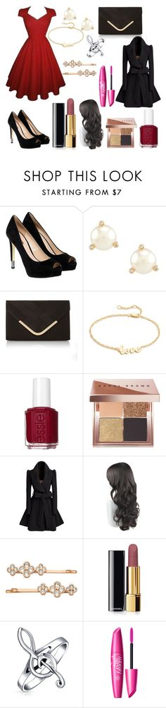 """Untitled #140"" by usafdaughter on Polyvore featuring GUESS, Kate Spade, Accessorize, Jennifer Zeuner, Essie, Bobbi Brown Cosmetics, Henri Bendel, Chanel and Bling Jewelry"