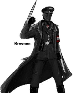 Kroenen is looks like Cool! Hellboy Kroenen, Character Concept, Character Art, Zombie Army, Ww2 Posters, Epic Characters, Wolfenstein, Tiger Art, Hero Movie