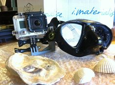 If the standard Go Pro sold mounts are not your thing, you just design one and 3D print it. Just like Felipe De La Torre, a high school senior/scuba diver from Pacoima, 3D printed his one in alumide.
