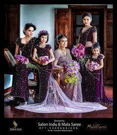 wonder about bridesmaids attires. so interesting colour match. Asian Bridesmaid Dresses, Bridesmaid Saree, Bridesmade Dresses, Brides And Bridesmaids, Bridal Dresses, Bridal Sari, Wedding Sari, Indian Bridal, Wedding Shoot