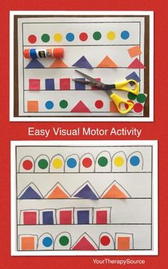 Easy Visual Motor Exercise