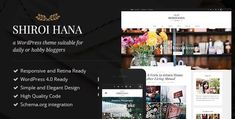 Shiroi Hana - An Elegant Blogging Theme 2.3.1, Shiroi Hana - An Elegant Blogging Theme v2.3.1 Nulled, Woocrack.com – Shiroi Hana is An Elegant Blogging Wordpress Theme being distributed by Themeforest. Shiroi Hana is a WordPress theme build especially for d
