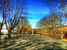 Boa tarde :D O Campo do Trasladário em Arcos de #Valdevez duas horas atrás. Dia de Sol frio e vento cortante. - http://ift.tt/1MZR1pw -