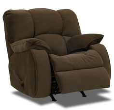 Soft cozy recliner chair