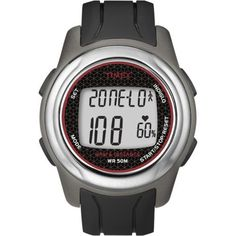 Timex Full-Size T5K560 Health Touch Plus Heart Rate Monitor Watch  #FullSize #Health #Heart #Monitor #plus #Rate #T5K560 #Timex #Touch #Watch MonitorWatches.com