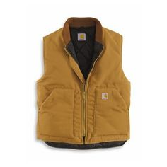 Carhartt Men's Duck Arctic Quilt Lined Vest
