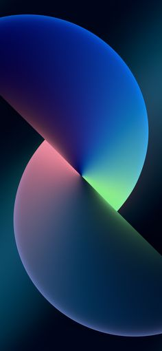 iPhone 13 Official Stock Wallpaper Twist (Blue) – Dark - Download this wallpaper from Wallpapers Central