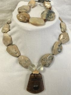 Unique Faceted Opal Necklace with Matching by MonteforteDesigns FREE SHIPPING 30% DISCOUNT