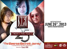 Jual Tiket Konser KLA PROJECT Konser 25th The Glamorous Electronic Journey - www.tarratix.com