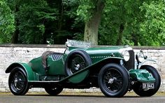 1931 Bentley 4.5-Liter SC Blower Green Hornet  ( Mathieu Heurtault / Gooding & Company )  A 1931 Bentley 4.5-Liter SC Blower Green Hornet is expected to fetch eight to ten million at the 2012 Pebble Beach auctions.