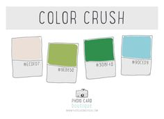 Color Crush - 9.3.2013 — Photo Card Boutique