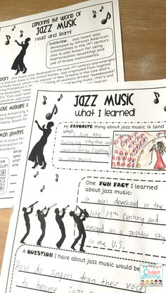 Music EXPLORATION by genre! Explore jazz, hip hop, pop, alternative, rock, country, and more! Fun music activities in the classroom