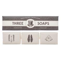 **Izola** soaps | Gentleman Soap Set | USA | enlace a izola.com