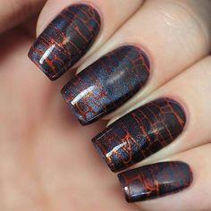 """@kombucha_witch_: Что-то вот такое случилось у меня с помощью лаков """"Кобальтовый Дамаскет"""" и """"Сердце Артемиды"""" от @masura.ru  Stamping plate """"Make your Mark 02"""" @linanailartsupplies  . #linanailartsupplies #nailstamping"""