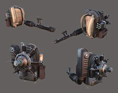 ArtStation - Collected Old Works (Props), Joo Sam Son