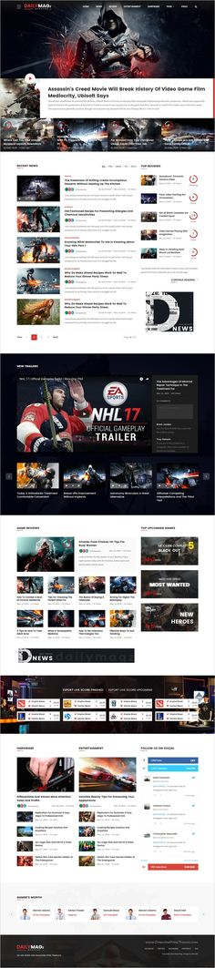 Trend News Responsive Magazine Theme Magazine Website
