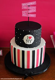 This is some awesome ideas for cake with the concept of New York City.