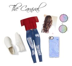 """The carnival / The first date outfit"" by tyra-mae on Polyvore featuring Keepsake the Label, Gap, Sunday Somewhere and Casetify"