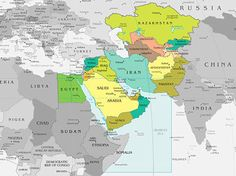 afghanistan world map google search countries m east