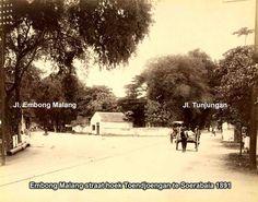 Pojok Embong malang - Tunjungan 1891