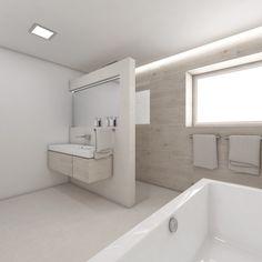 Moderní koupelna SUNDAY - Pohled z vany