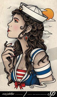 28 ideas tattoo old school girl originals pin up Tattoo Girls, Gypsy Girl Tattoos, Girl Leg Tattoos, Pin Up Girl Tattoo, Tattoo Designs For Girls, Pin Up Tattoos, Sleeve Tattoos, Cool Tattoos, Tatoos