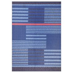 Vintage Double-Sided Swedish Kilim 48199 | From a unique collection of antique and modern russian and scandinavian rugs at https://www.1stdibs.com/furniture/rugs-carpets/russian-scandinavian-rugs/