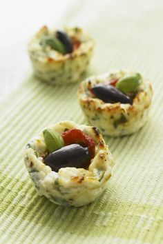 Mini Roast Capsicum and Olive Baked Ricotta RECIPE