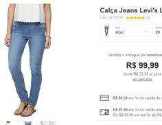 Calça Jeans Levi's Legging Perfectly Slimming Pull - Azul << R$ 8999 >>