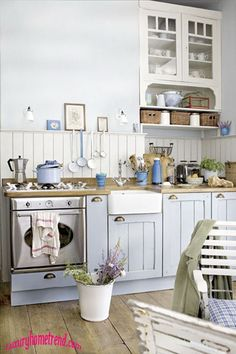 real French Country Kitchens | real French country kitchen | Mon maison français | Pinterest