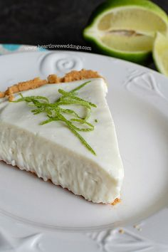 Easy No Bake Key Lime Pie Recipe | Cooking | How To | Heart Love Weddings Recipes | Heart Love Weddings
