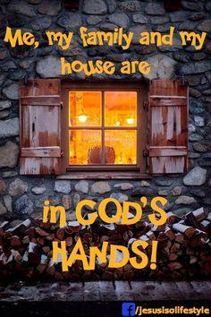In God's Hands!