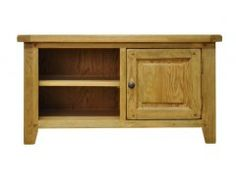 A great addition to any style living room - the Dulverton Oak standard TV unit. Pine Furniture, French Furniture, Unique Furniture, Dining Furniture, Dvd Cabinets, Buy Tv Stand, Side Table With Drawer, Tv Unit, Furniture Collection