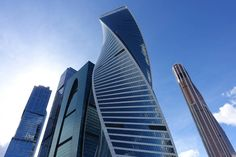 Evolution Tower moscow city