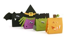 Assorted Halloween Treat Bag Kit by Pebbles in my Pocket