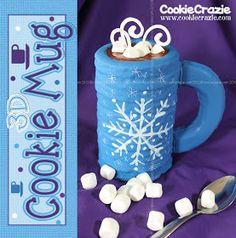 CookieCrazie: 3D Cookie Mug..... Hot Chocolate Anyone? (Tutorial) hot ...