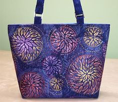 I'm really excited. I finally got into my studio and finished my new Candace Bag, and …