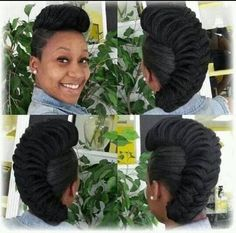 Mohawk Style - http://community.blackhairinformation.com/hairstyle-gallery/updos/mohawk-style/ #updo