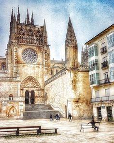 Burgos,La catedral y el peregrino