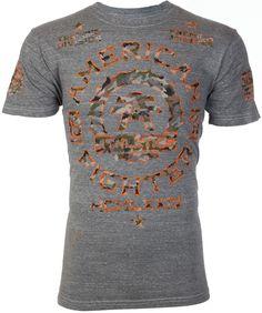 American Fighter AFFLICTION Mens T-Shirt MARYLAND Biker CAMO Gym UFC S-3XL $40 b #Affliction #GraphicTee