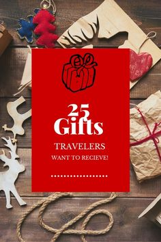 Do you have a loved one in your life that loves to travel? The thing with travelers is we don't need (or want) a lot of stuff, so what are some gifts travelers want to receive? Check out this compilation of items travelers really want this holiday season.