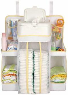New Sassy Removable Baby Diaper - Bottle Nursery Organizer,