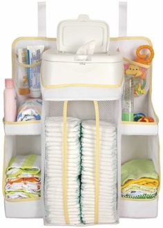 New Sassy Removable Baby Diaper - Bottle Nursery Organizer,