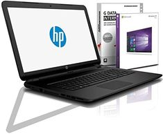 HP (15,6 Zoll HD+) Notebook (AMD A4-9125 2x2.6 GHz, 8GB DDR4, 512 GB SDD, DVD±R/RW, Radeon R3, HDMI, Webcam, Bluetooth, USB 3.0, WLAN, Windows 10 Prof. 64 Bit, MS Office 2010 Starter) #6479 Microsoft Office, Microsoft Windows 10, Internet Radio, Led Backlight, Hp 17, Ddr4 Ram, Usb, Laptop Computers, Bluetooth Speakers