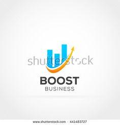 Financial Growth Logo Icon