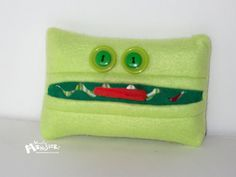 Kleenex Kreatures will hold your pocketsized by MostlyMonstersCV, $4.95