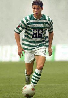 Cristiano en el Sporting
