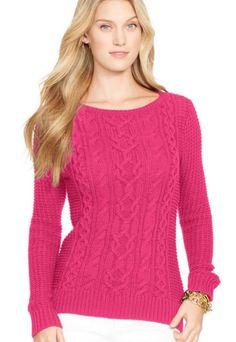 NEW Women's Lauren Ralph Lauren LRL Polo Knit Boat Neck Pullover Sweater 1X B2 #LRLLaurenRalphLaurenPolo #BoatNeck #CasualWorkEveningClubAthleisure